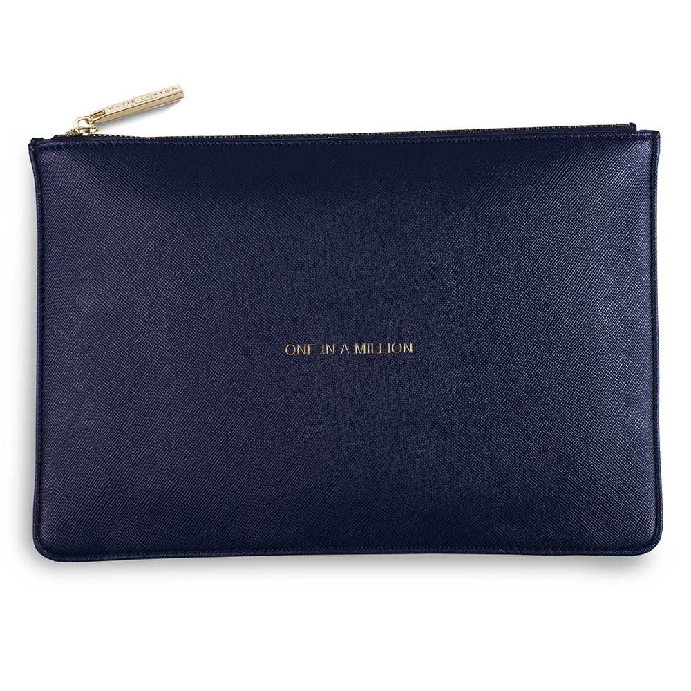 b153bbe18 Katie Loxton One In A Million - Navy Pouch Bag (The Perfect Pouch)